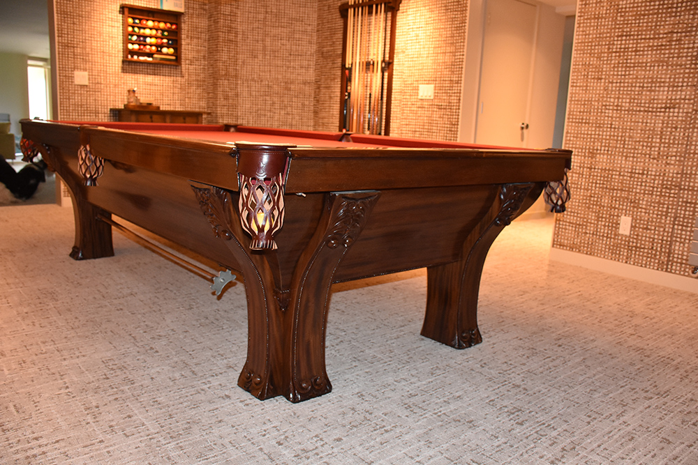 Plum Studio Antique Restoration & Custom Furniture Pool Table Restoration Seattle, WA