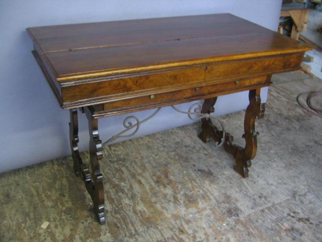 Plum Studio Antique Restoration & Custom Furniture Spanish Desk Restoration 007 Seattle, WA