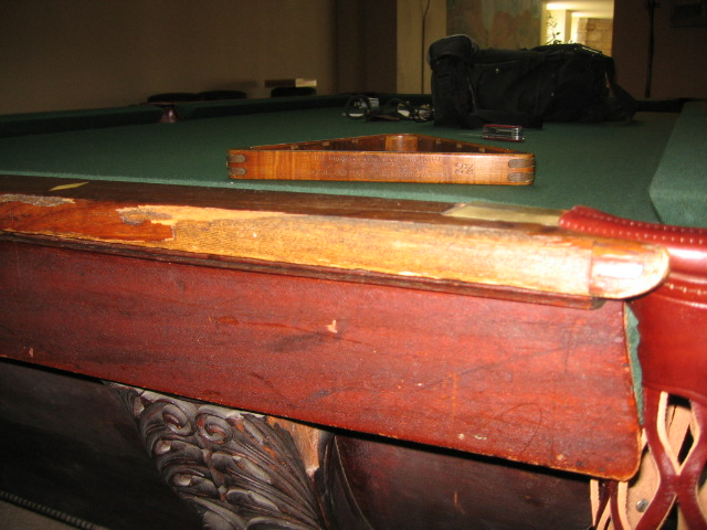Plum Studio Antique Restoration & Custom Furniture Pool Table Restoration 109 Seattle, WA