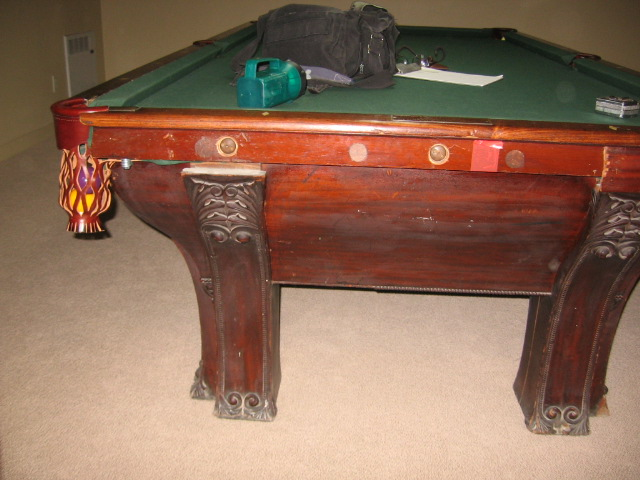 Plum Studio Antique Restoration & Custom Furniture Pool Table Restoration 100 Seattle, WA